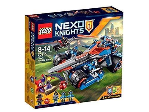 Lego Nexo Knights - Clays Klingen-Cruiser & mehr