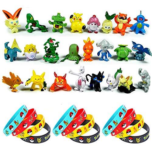 Pokemonfiguren aus Plüsch und Plastik - Pikachu & Co.