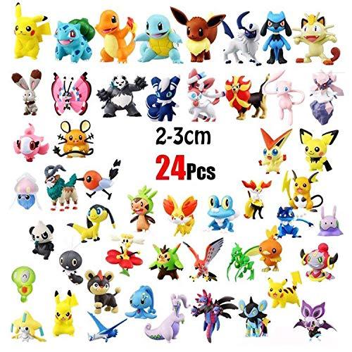 Pokemonfiguren aus Plüsch und Plastik – Pikachu & Co. - 5