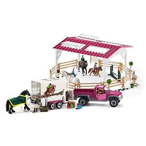 Schleich Pferdeanhänger und Pick-Up - 2