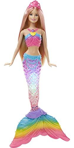 Mattel-barbie DHC40 - Dreamtopia Regenbogenlicht Meerjungfrau