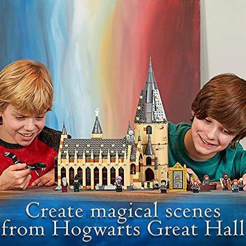 LEGOHarryPotter – Die große Halle von Hogwarts (75954) Bauset (878Teile) - 10