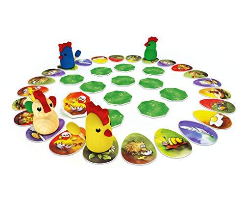Zoch 601121800 Zicke Zacke Hühnerkacke, Kinderspiel des Jahres 1998 - 5