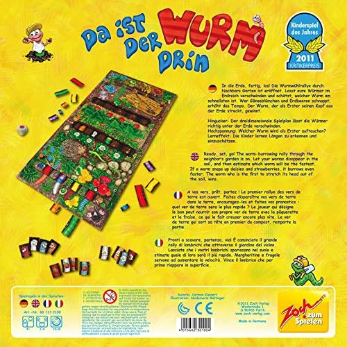 Zoch 601132100 - Da ist der Wurm drin, Kinderspiel des Jahres 2011 - 3