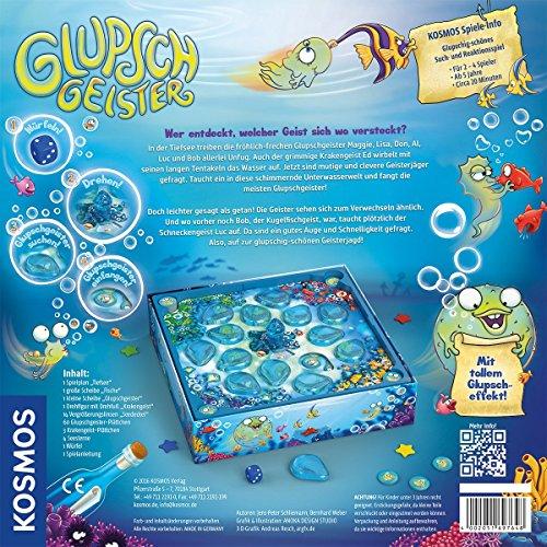KOSMOS Spiele 697648 - Glupschgeister, Brettspiel - 3