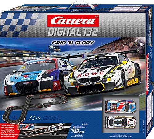 Carrera DIGITAL 132 Grid 'n Glory 20030010 Autorennbahn Set