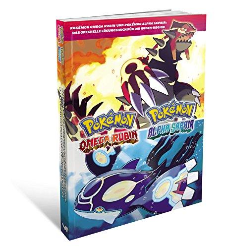 Pokemon Alpha Saphir und Pokemon Omega Rubin Lösungsbuch