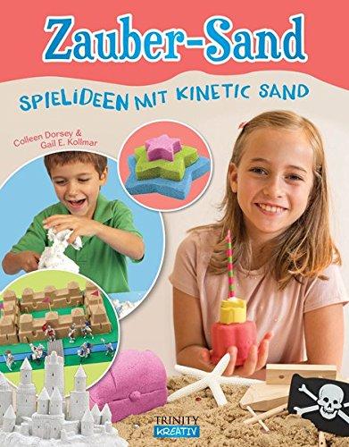 """Zauber-Sand Buch: """"Spielideen mit Kinetic Sand"""""""