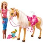 Barbie Reitpferd Tawny
