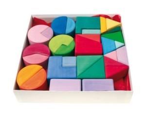 Grimm's Dreiecke, Vierecke, Halbkreise