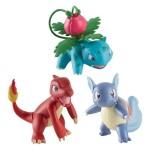 Pokemon-Figur Bisasam, Glumanda, Shirlok